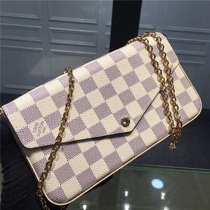 Louis Vuitton 3 in 1 damier azur crossbody